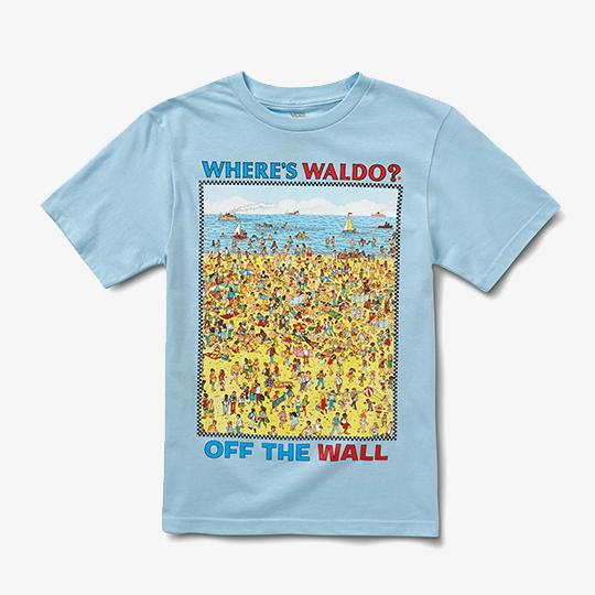 ABBIGLIAMENTO - T-SHIRT VANS X WHERE IS WALLY