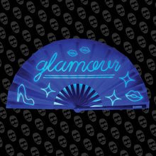 Load image into Gallery viewer, Neon Glamour UV Fan