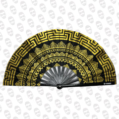 Gold Mandala Fan