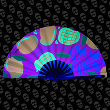 Load image into Gallery viewer, Let That Man Go (Mango) UV Fan
