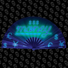 Load image into Gallery viewer, Neon Money UV Fan