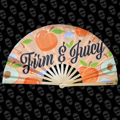 Firm and Juicy Peach UV Fan