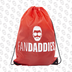 Fan Daddies Logo Drawstring Bag