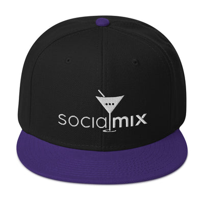 Plum Snapback Hat - socialmix®Official Site