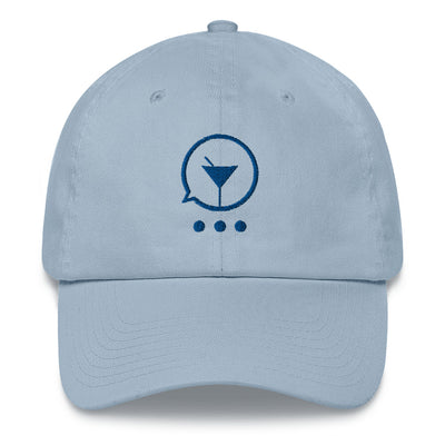 Feeling Blue Dad Hat - socialmix