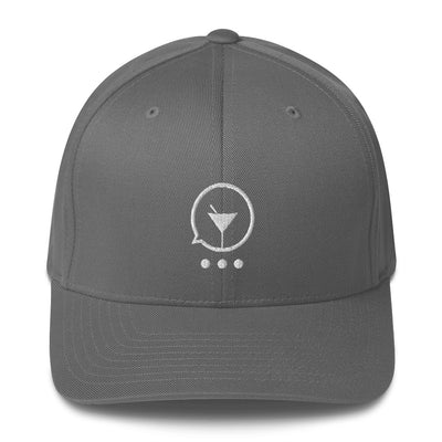 Why So Grey Structured Twill Cap - socialmix®Official Site
