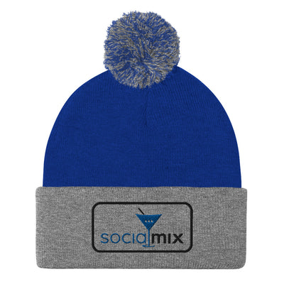 Royal Pom Beanie - socialmix®Official Site