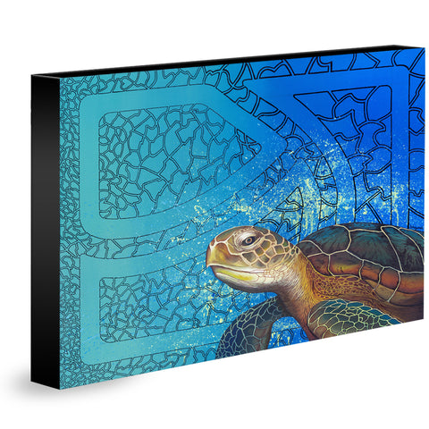 CREATION STORIES III - SEA TURTLE - Limited Edition Giclee Print