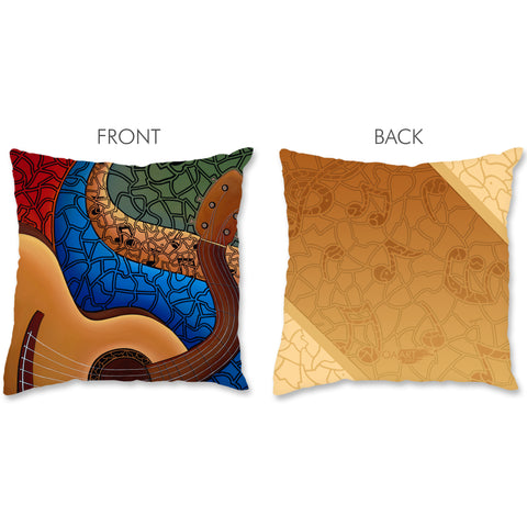 Music Pillow - Acoustic Guitar
