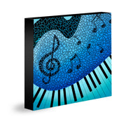JAZZ PIANO - Limited Edition Giclee Print
