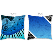Music Pillow - Piano