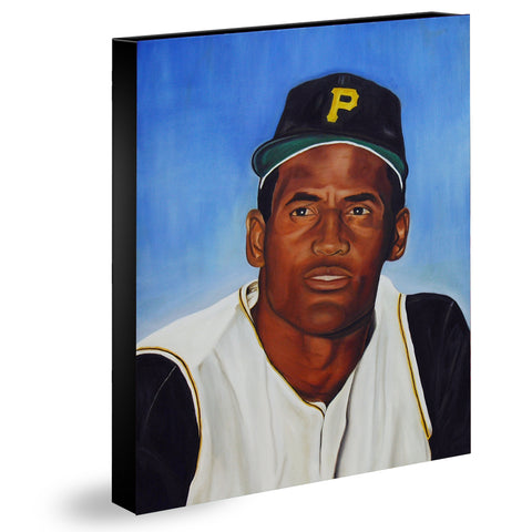 TRIBUTO A ROBERTO CLEMENTE - Limited Edition Giclee Print