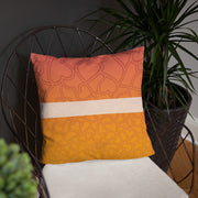 Funky Palm Tree Pillow
