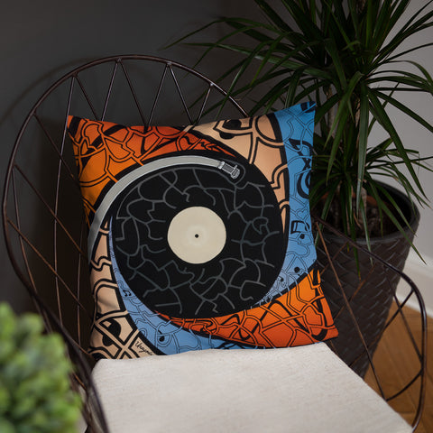Music Pillow - Vinyl Record LP
