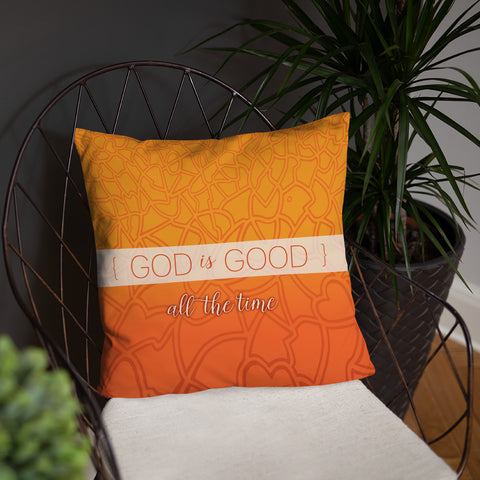 God is Good Pillow