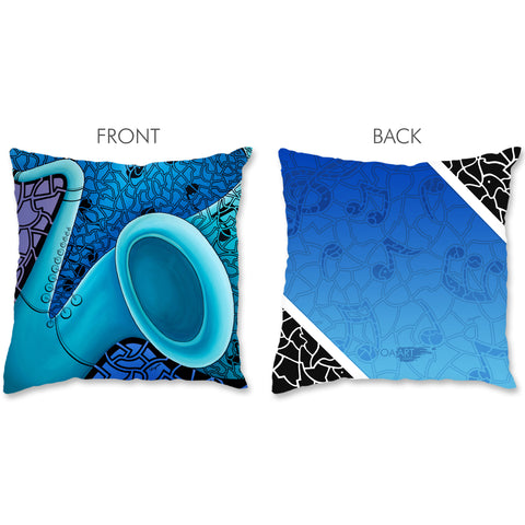 Music Pillow - Jazz Saxophone