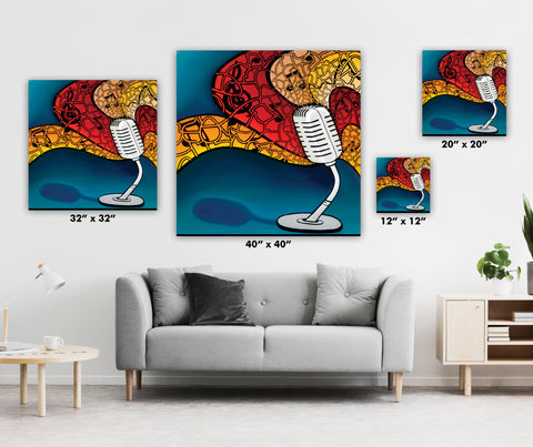 WHO DISCOVERED WHO - OWL - QUIEN DESCUBRIO A QUIEN - Limited Edition Giclee Prints