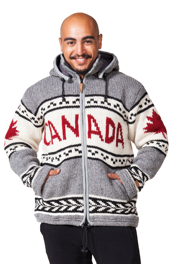 Canada Printed Wool Jacket