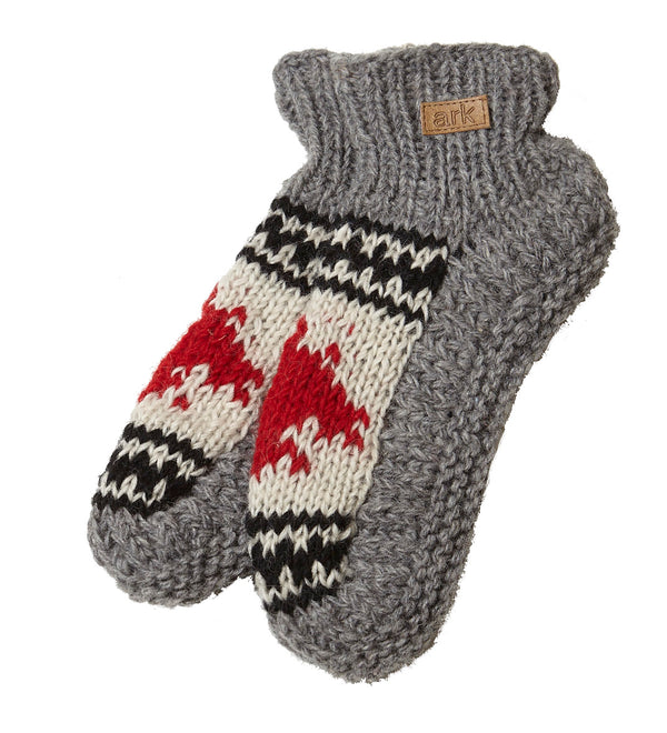 Canadiana Wool Slippers