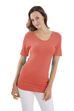 BAMBOO SHORT SLEEVE TOP