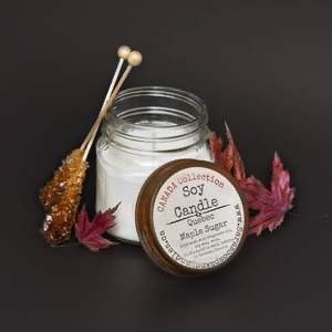 Quebec Maple Sugar Soy Candle