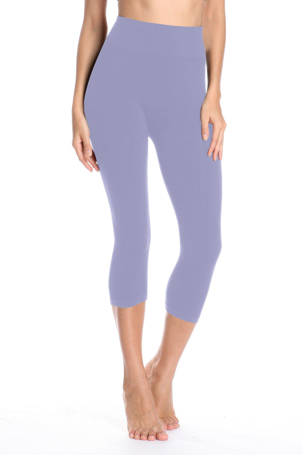 BAMBOO HIGH BAND CAPRI