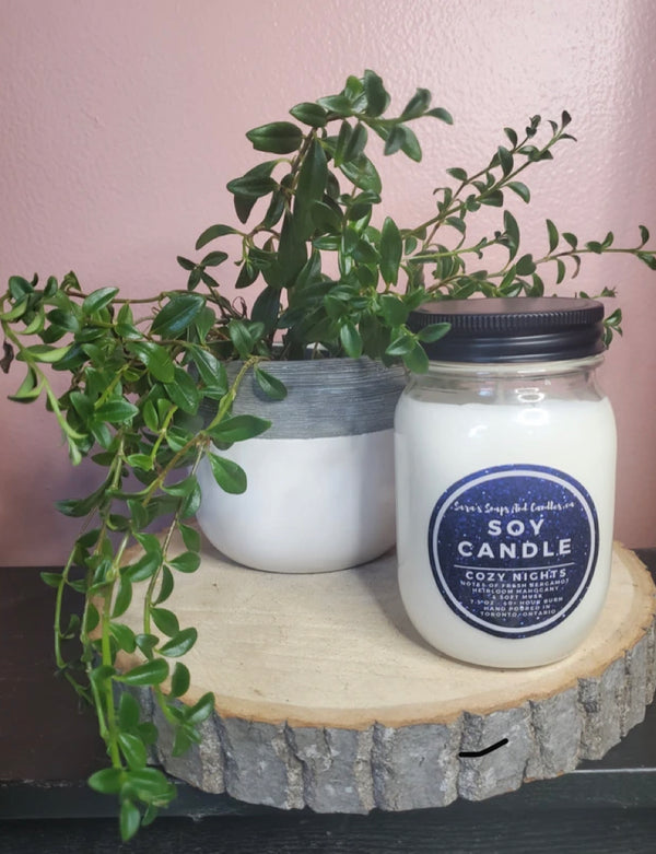 Cozy (Flannel) Soy Candle
