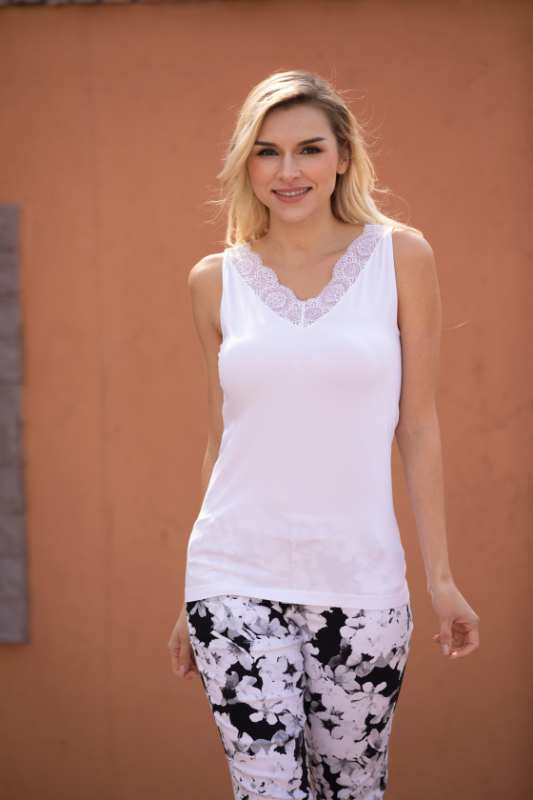 Bamboo Lace Top