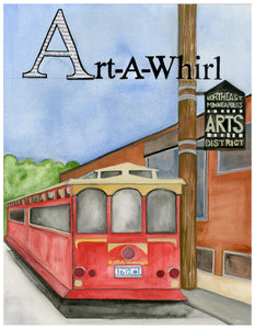 A is for Art a Whirl