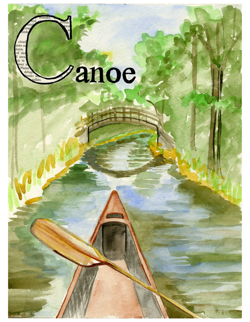 C is for Canoe