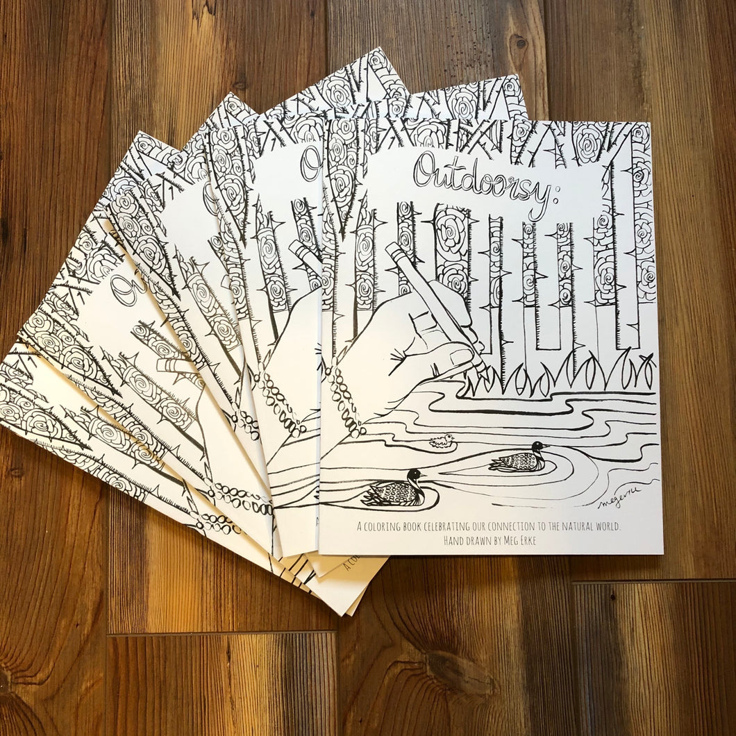 Outdoorsy: A coloring Book Celebrating Our Connection to the Natural World