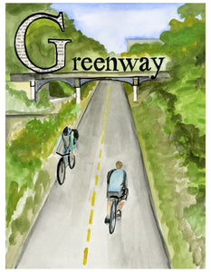 G is for Greenway