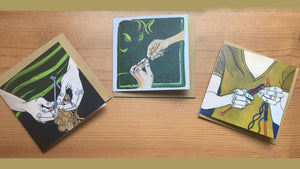 Hands Greeting Card Bundle