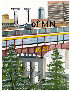 U is for the U of MN