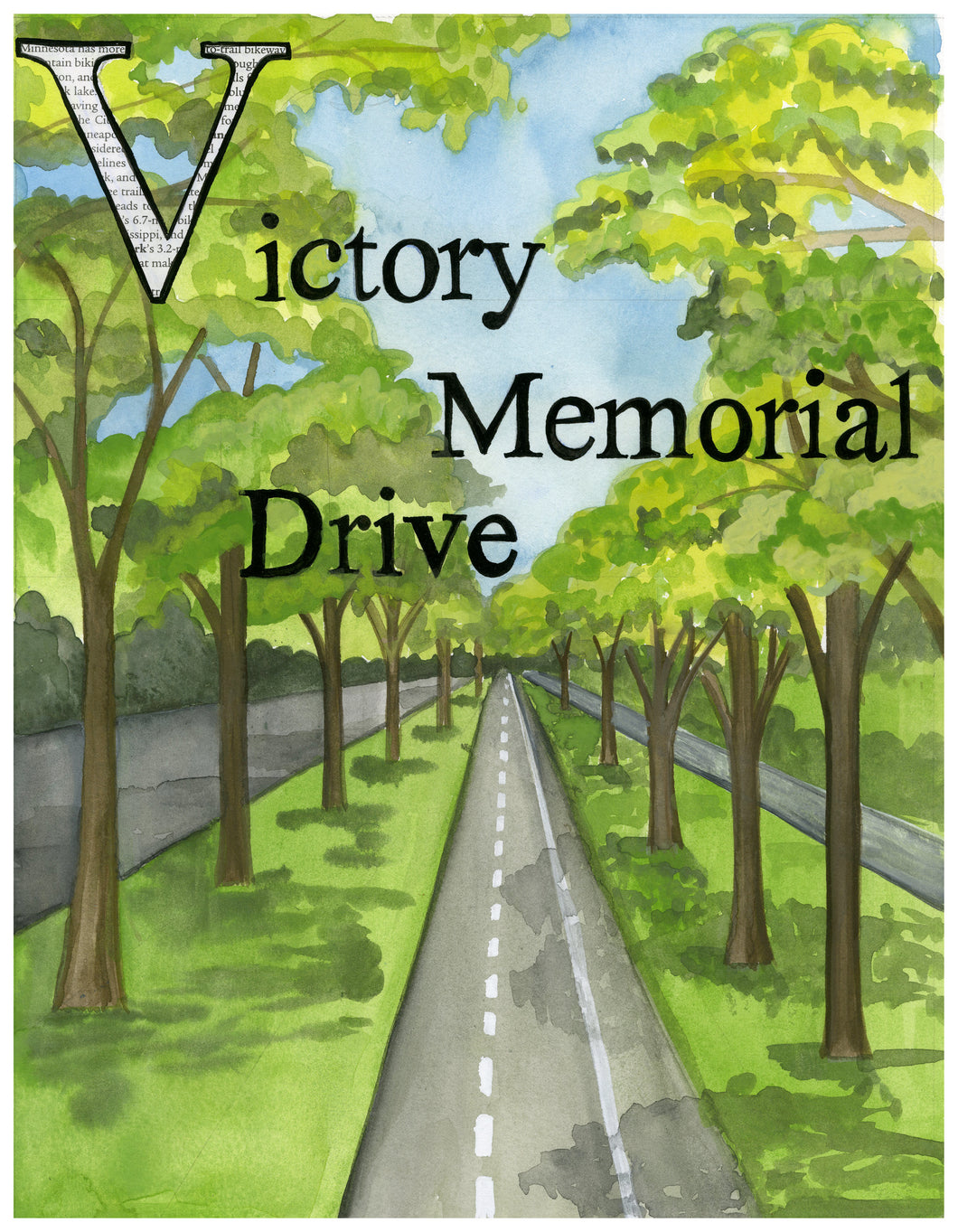 V is for Victory Memorial Parkway