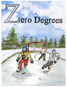 Z is for Zero Degrees