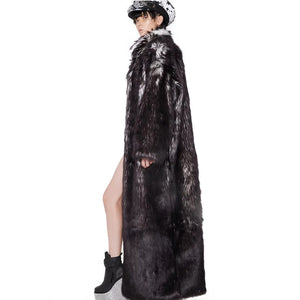 Glamour fur coat