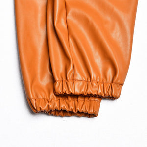 Nat leather trousers