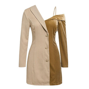 Autumn dress blazer