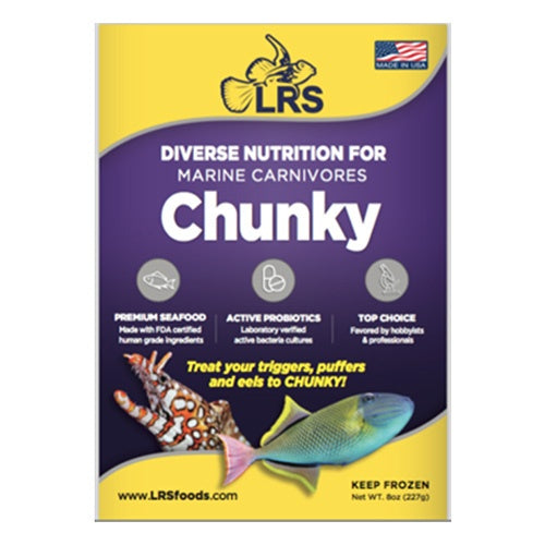 LRS Fish Frenzy Chunky, 8oz