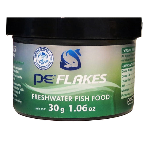 PE Flakes Fish Food - Freshwater 30g