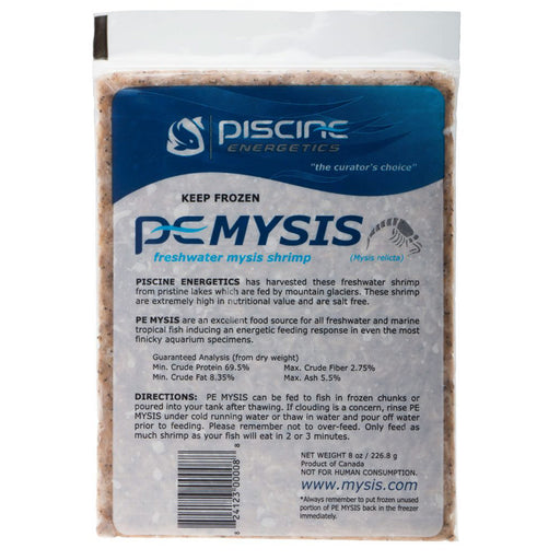 PE MYSIS 40oz flat packs (Frozen)