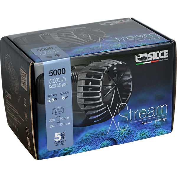Sicce Xstream 1720 Wave Pump Powerhead 1720 gph