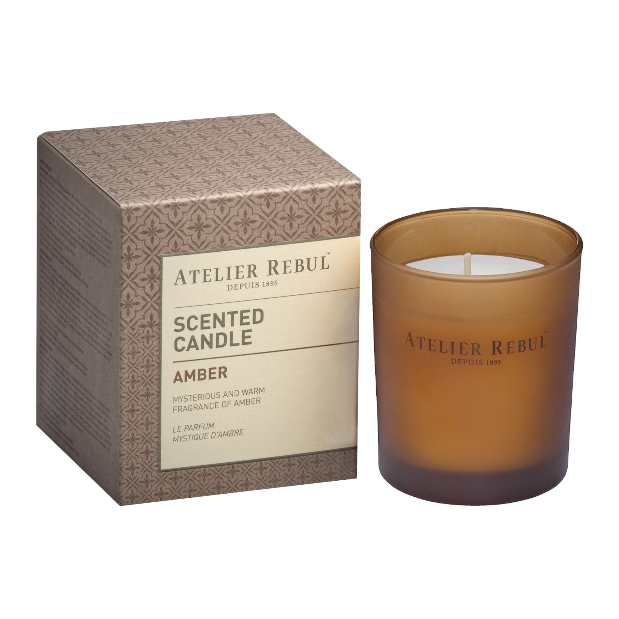 Amber Scented Candle 140g | Atelier Rebul Webshop