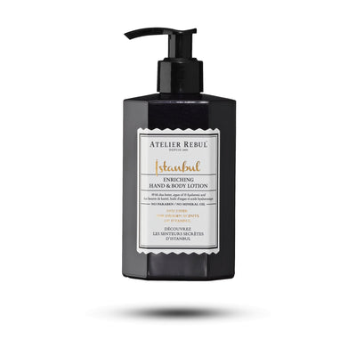 Istanbul Hand & Body Lotion 430ml - Atelier Rebul
