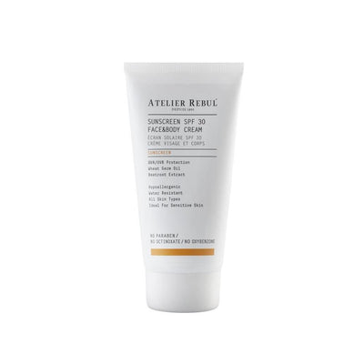 Sunscreen SPF 30 Face & Body Cream 150 ml - Atelier Rebul