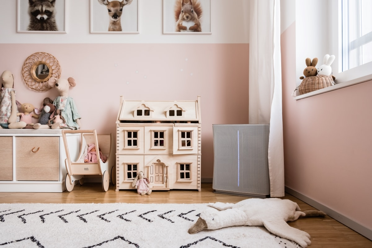 Stadler Form Roger Air Purifier In Children Room