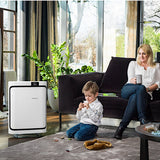 Boneco P500 Room Air Purifier In Living Room With Kid - Aerify