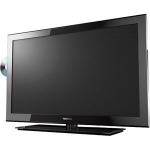 "Toshiba 24SLV411U 24"" 1080p LED-LCD HDTV with built-in DVD player"