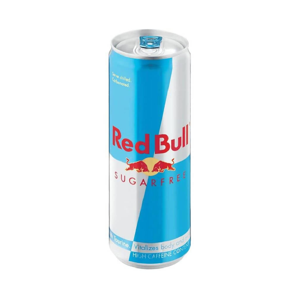 RED BULL SUGAR FREE LATA